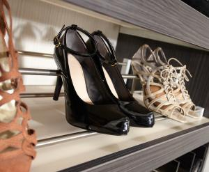 SHOES STORAGE From walk-in wardrobes