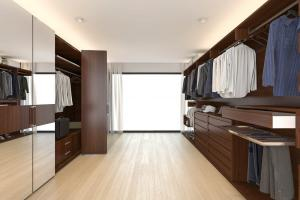Walk in Wardrobes - For the ultimate in walk in wardrobe design our beautiful range of colours and finishes.